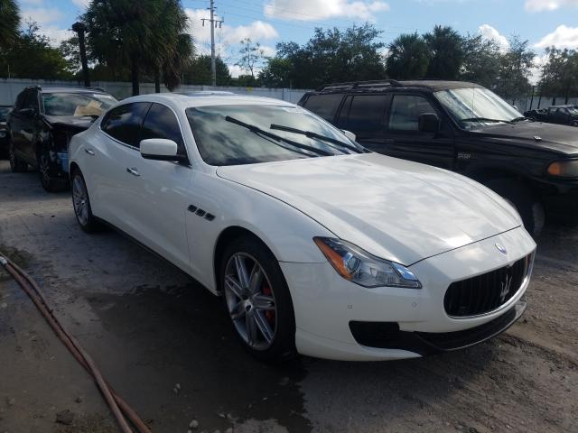 Maserati Quattropor salvage cars for sale: 2014 Maserati Quattropor