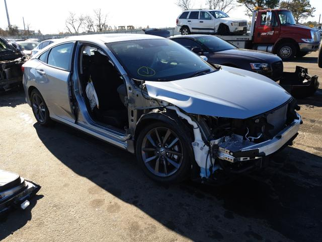 Salvage cars for sale at Brookhaven, NY auction: 2020 Honda Civic EX