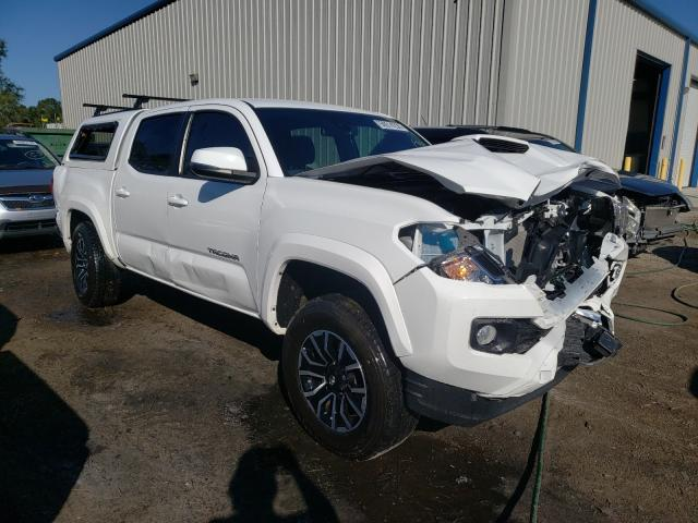Salvage cars for sale from Copart Harleyville, SC: 2020 Toyota Tacoma DOU