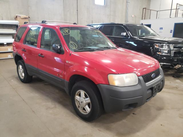 Ford Escape XLS salvage cars for sale: 2001 Ford Escape XLS