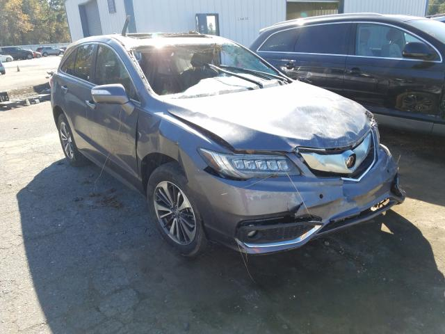 2017 Acura RDX Advance en venta en Shreveport, LA