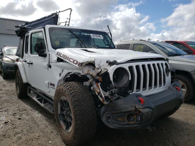 Salvage cars for sale from Copart Jacksonville, FL: 2019 Jeep Wrangler U