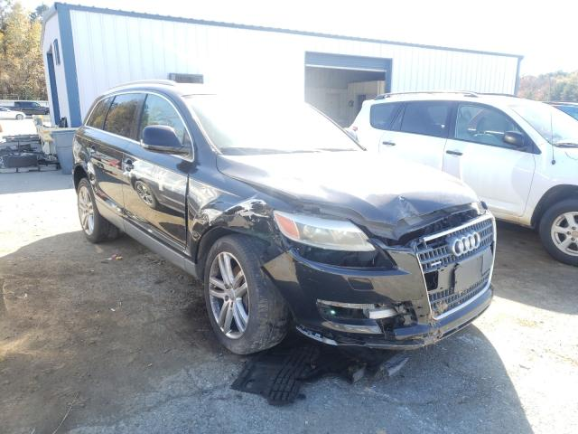 Salvage cars for sale from Copart Shreveport, LA: 2008 Audi Q7 4.2 Quattro