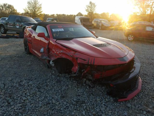 Vehiculos salvage en venta de Copart Austell, GA: 2019 Chevrolet Camaro SS