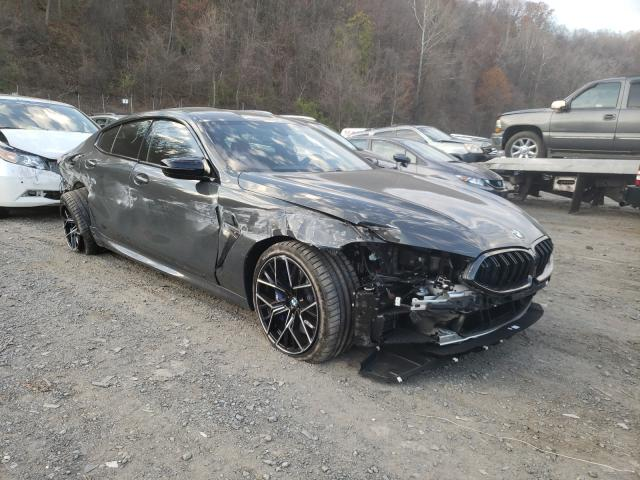 BMW M8 salvage cars for sale: 2021 BMW M8
