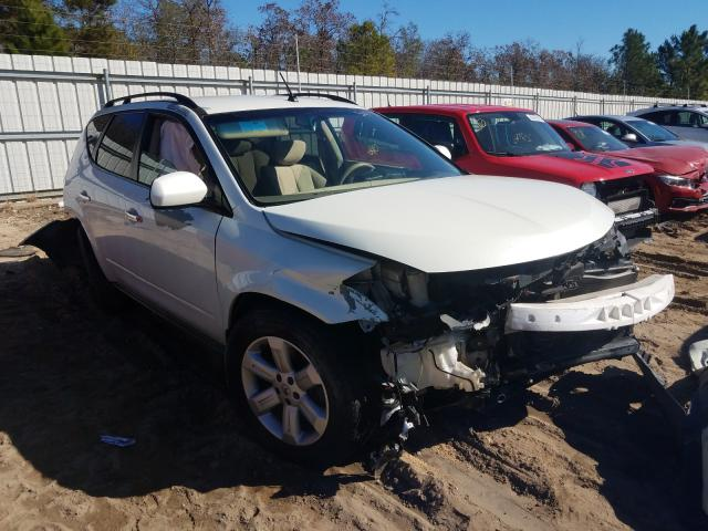 Salvage cars for sale from Copart Gaston, SC: 2007 Nissan Murano SL