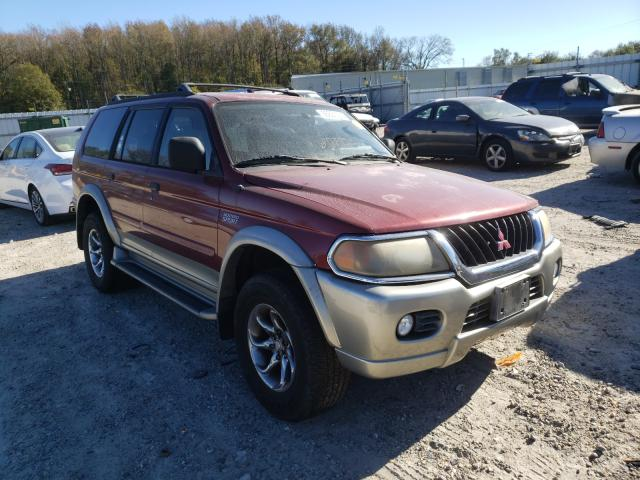 Salvage cars for sale from Copart Hampton, VA: 2000 Mitsubishi Montero SP