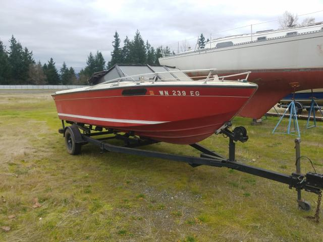 Salvage cars for sale from Copart Arlington, WA: 1980 Seadoo Boat