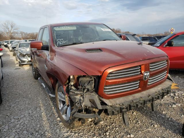 Salvage cars for sale from Copart Des Moines, IA: 2013 Dodge RAM 1500 Sport