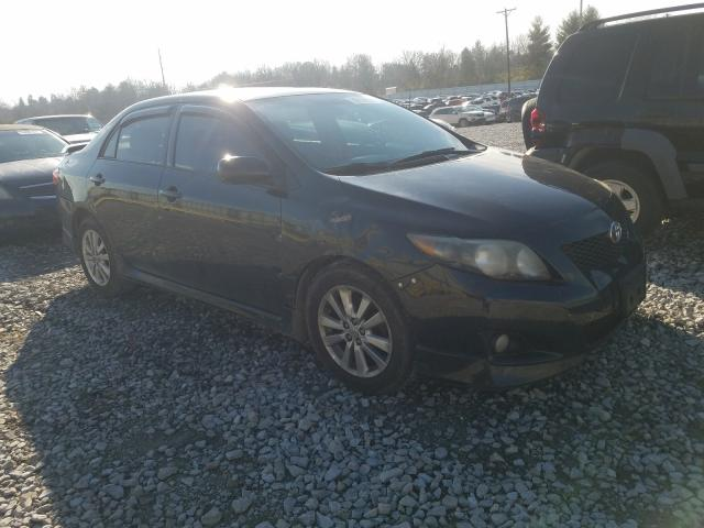 Salvage cars for sale from Copart Lawrenceburg, KY: 2010 Toyota Corolla BA