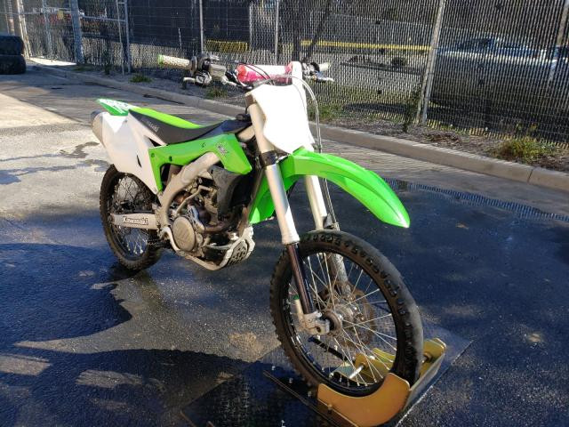 Salvage cars for sale from Copart Waldorf, MD: 2018 Kawasaki KX450 F