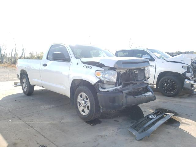 Salvage cars for sale from Copart Grand Prairie, TX: 2014 Toyota Tundra SR