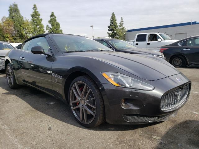 Salvage cars for sale from Copart Rancho Cucamonga, CA: 2014 Maserati Granturismo
