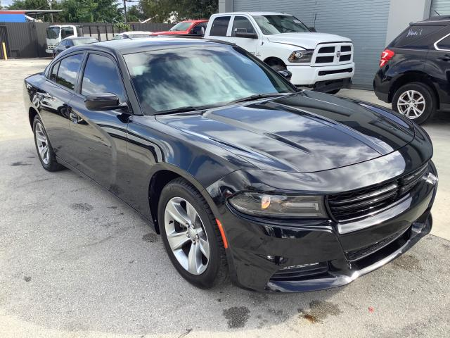 Salvage cars for sale from Copart Opa Locka, FL: 2018 Dodge Charger SX