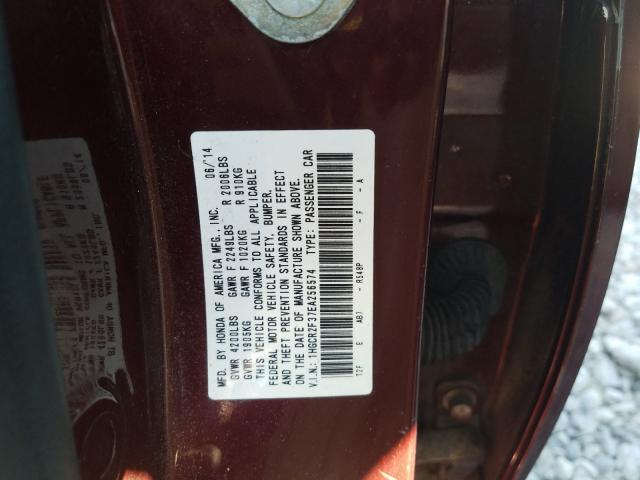 1HGCR2F37EA256574 2014 Honda Accord Lx 2.4L