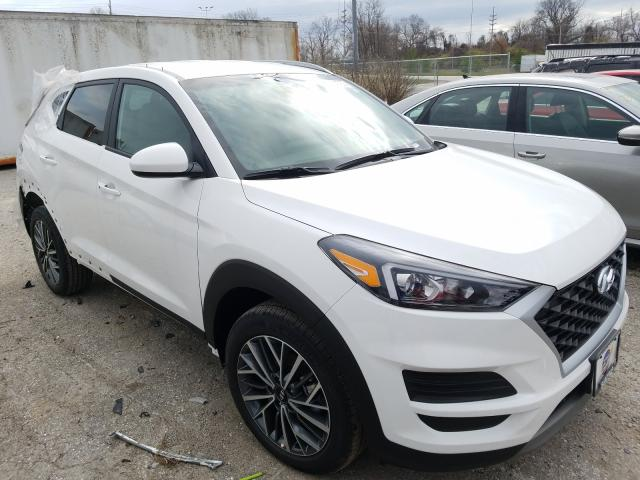 Salvage cars for sale from Copart Bridgeton, MO: 2021 Hyundai Tucson Limited