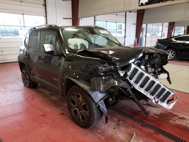 Salvage cars for sale from Copart Angola, NY: 2015 Jeep Renegade L