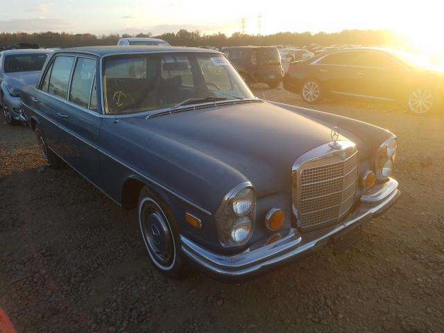 Mercedes-Benz 280SEL salvage cars for sale: 1972 Mercedes-Benz 280SEL