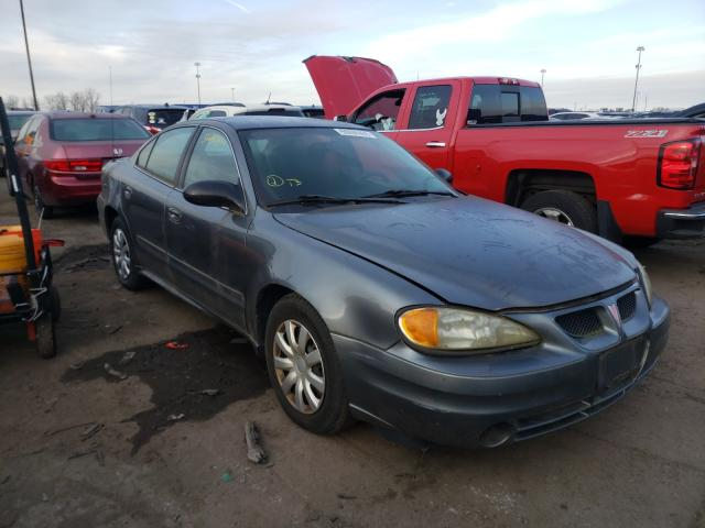 Pontiac Grand AM salvage cars for sale: 2005 Pontiac Grand AM