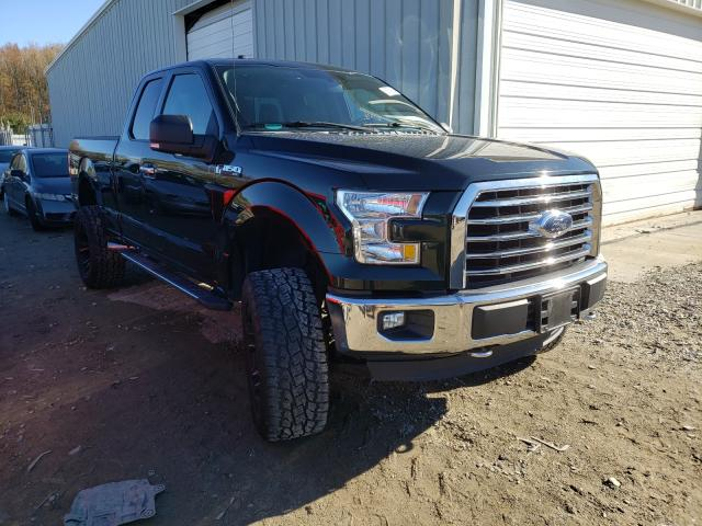 Salvage cars for sale from Copart Hampton, VA: 2016 Ford F150 Super