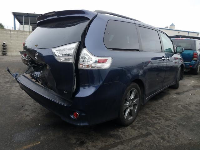 цена в сша 2018 Toyota Sienna Se 3.5L 5TDXZ3DC6JS940702