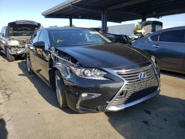 Salvage cars for sale from Copart Hayward, CA: 2016 Lexus ES 300H