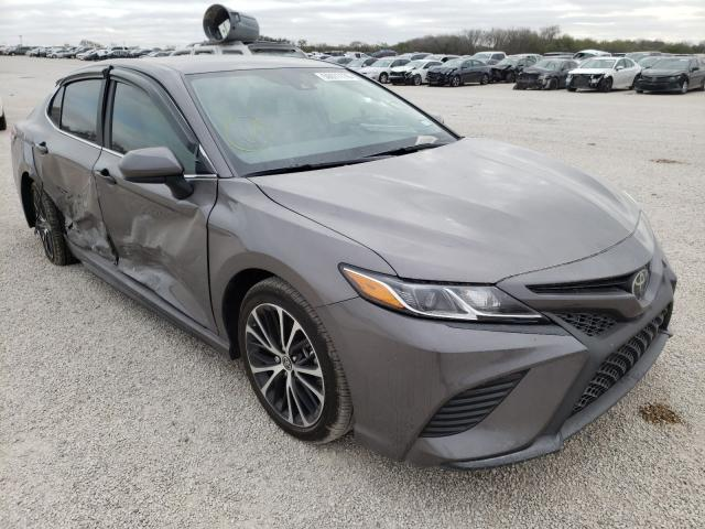 Salvage cars for sale from Copart San Antonio, TX: 2020 Toyota Camry SE
