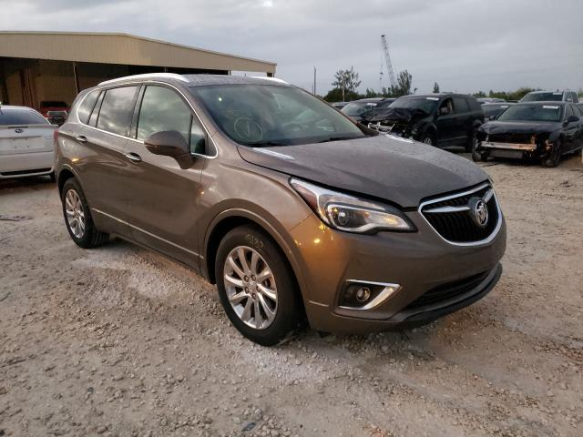 Salvage cars for sale from Copart Homestead, FL: 2019 Buick Envision E