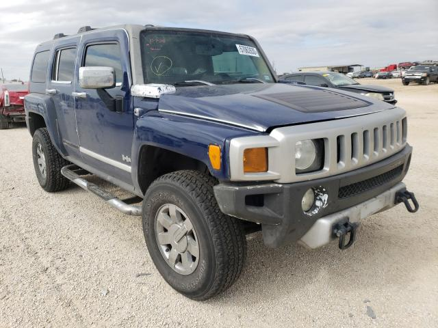 Salvage cars for sale from Copart San Antonio, TX: 2009 Hummer H3