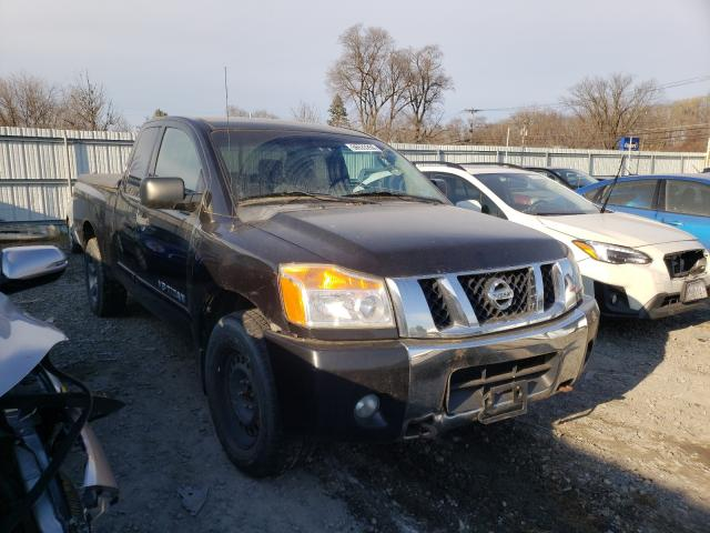 Salvage cars for sale from Copart Albany, NY: 2010 Nissan Titan XE