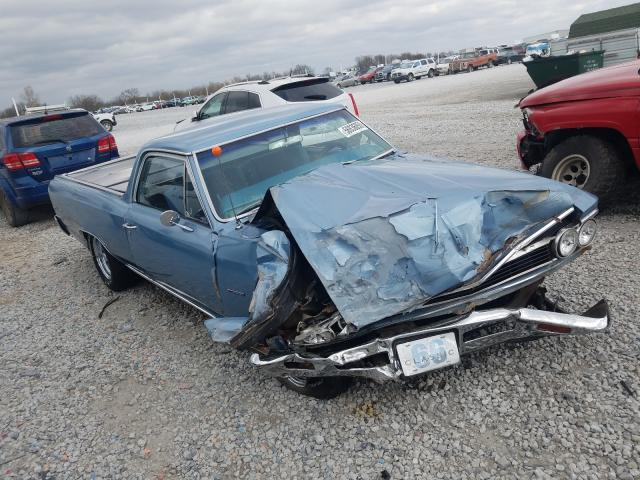 Salvage cars for sale from Copart Prairie Grove, AR: 1966 Chevrolet EL Camino