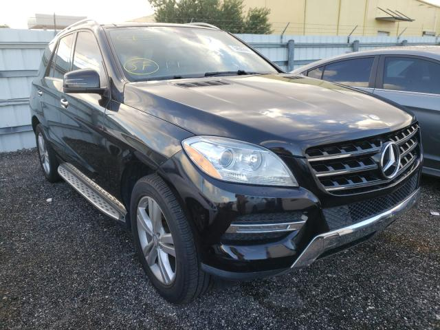 Mercedes-Benz ML 350 salvage cars for sale: 2013 Mercedes-Benz ML 350