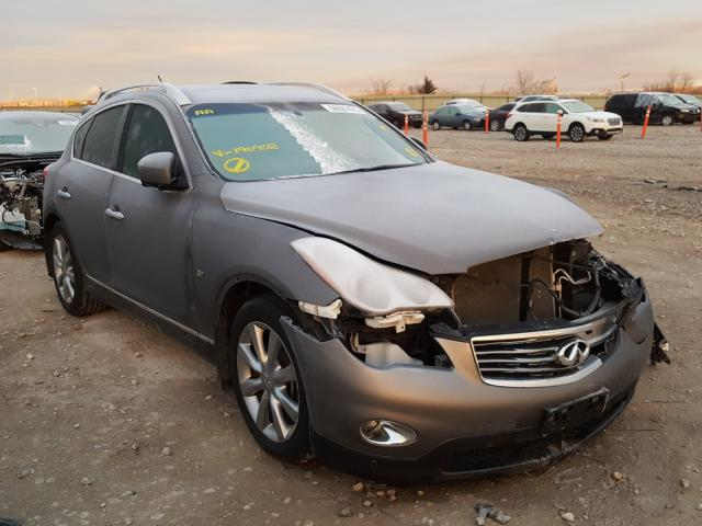 Salvage cars for sale from Copart Kansas City, KS: 2014 Infiniti QX50