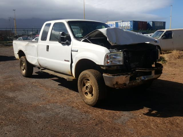 Salvage cars for sale from Copart Kapolei, HI: 2006 Ford F350 SRW S