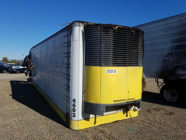 Salvage cars for sale from Copart Anderson, CA: 1992 Utility Trailer