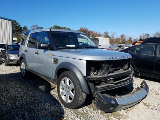 Salvage cars for sale from Copart Ellenwood, GA: 2008 Land Rover LR3 HSE