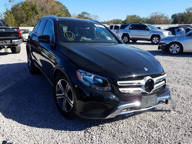Salvage cars for sale at Theodore, AL auction: 2019 Mercedes-Benz GLC 300 4M