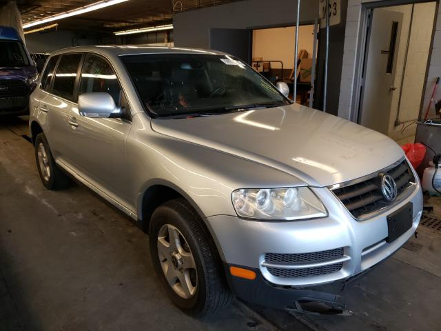 Salvage cars for sale from Copart Wheeling, IL: 2006 Volkswagen Touareg 3