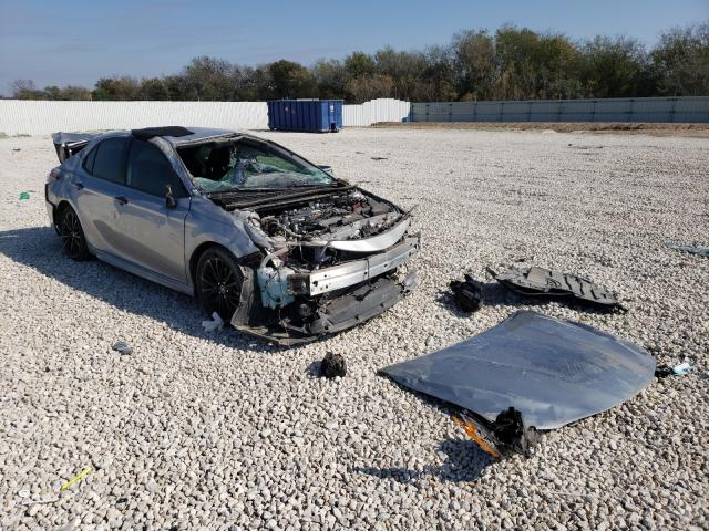 Salvage cars for sale from Copart New Braunfels, TX: 2019 Toyota Camry L