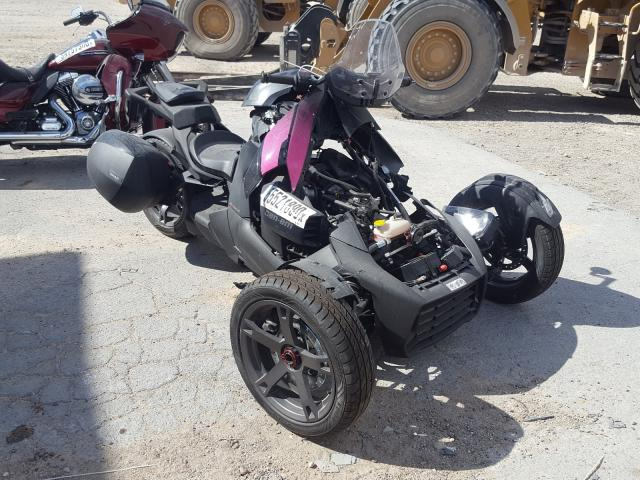 Can-Am Ryker salvage cars for sale: 2021 Can-Am Ryker