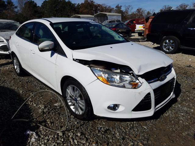 Salvage cars for sale from Copart Ellenwood, GA: 2012 Ford Focus SEL
