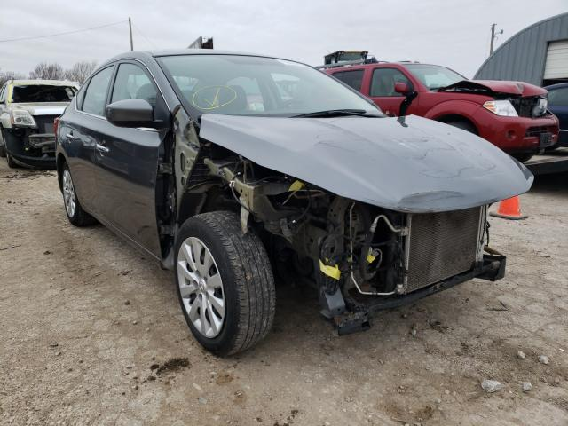 Salvage cars for sale from Copart Wichita, KS: 2016 Nissan Sentra S