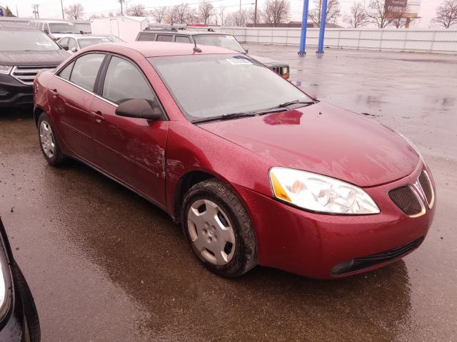 Vehiculos salvage en venta de Copart Fort Wayne, IN: 2008 Pontiac G6 Value L