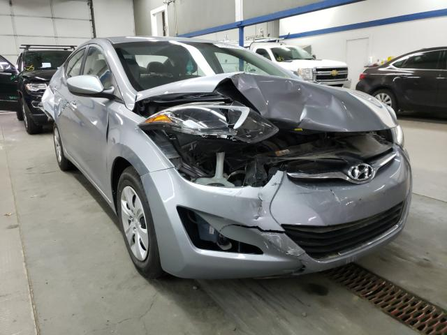 Salvage cars for sale from Copart Pasco, WA: 2016 Hyundai Elantra SE