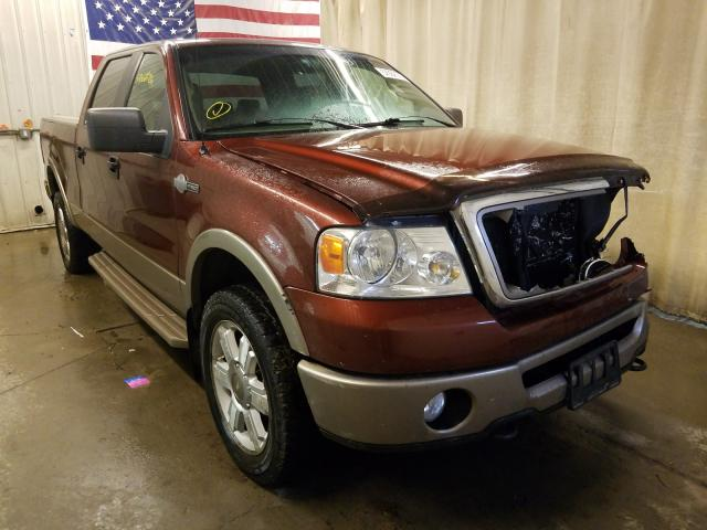 Salvage cars for sale from Copart Avon, MN: 2006 Ford F150 Super
