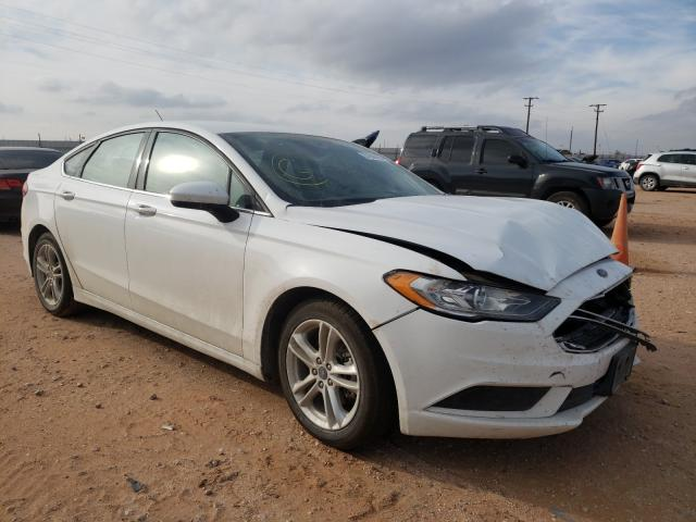 Salvage cars for sale from Copart Andrews, TX: 2018 Ford Fusion SE