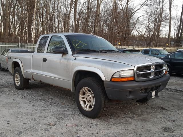 Dodge Dakota SXT salvage cars for sale: 2004 Dodge Dakota SXT