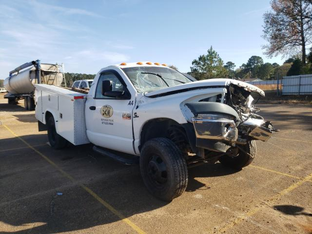 Salvage cars for sale from Copart Longview, TX: 2008 Dodge RAM 3500 S