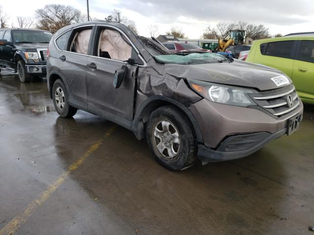 Salvage cars for sale from Copart Wilmer, TX: 2014 Honda CR-V LX