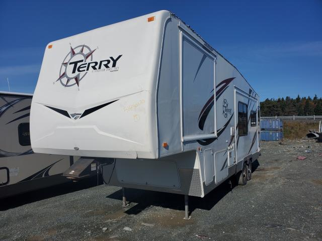 Fleetwood salvage cars for sale: 2008 Fleetwood Terry 295